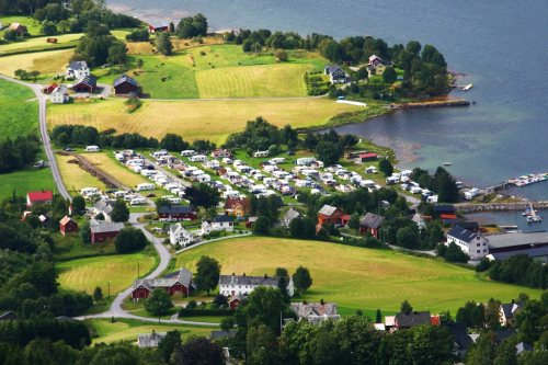 Tingvoll Camping i Tingvoll kommune