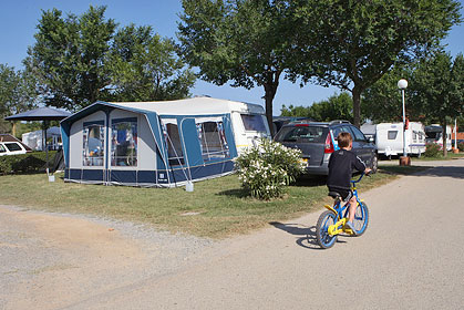 Campingplass i Spania