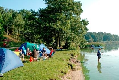 Campingplass i Tyskland