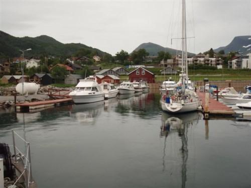 Bobilparkering i Sykkylven i Møre & Romsdal