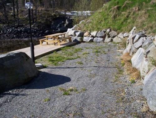 Oppstillingsplass for bobil