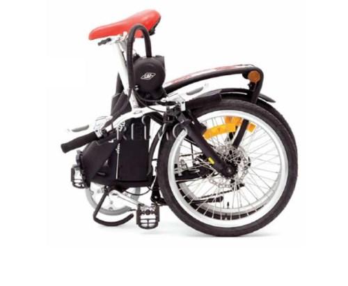 Sammenleggbar elektrisk sykkel til campingbil og bobil