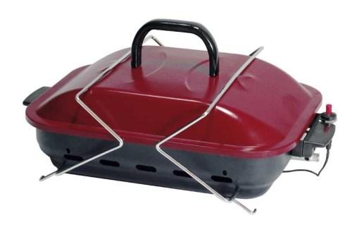 Bærbar koffert gassgrill til bobil