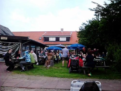 Grillfest på Lyngholt Familiecamping