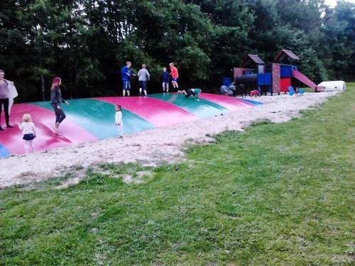 Lekeområde for barn på Lyngholt Familiecamping