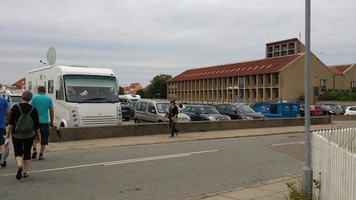 Bobilparkering Skagen, Danmark