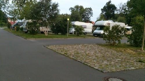 stellplatz Bobilparkering - Sachsenhausen, Oranienburg, Tyskland