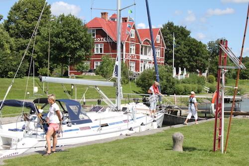 Stadig flere turister i bobil til Göta kanal.