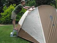 Spring Waterproofing with Kiwi Camp Dry | family camping