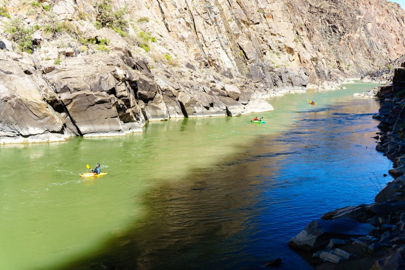 The flatwater on Westwater Canyon does not disappoint.