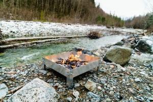 CampingByKayak.com Firepan