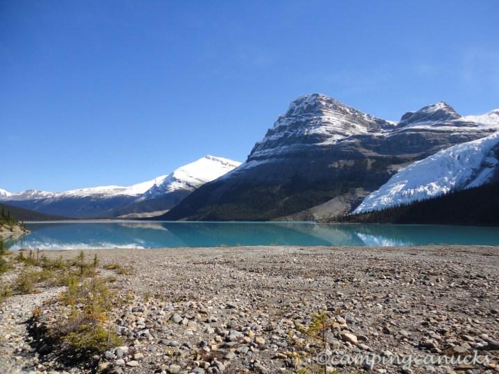 Berg Lake and Rearguard Mountain