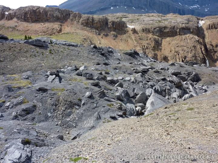 Barren stretches of Nigel Pass
