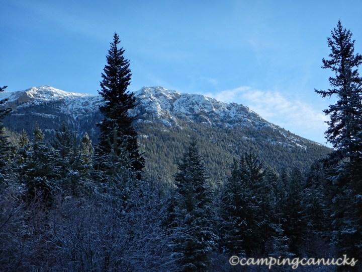 The south ridge of Mount Bowman