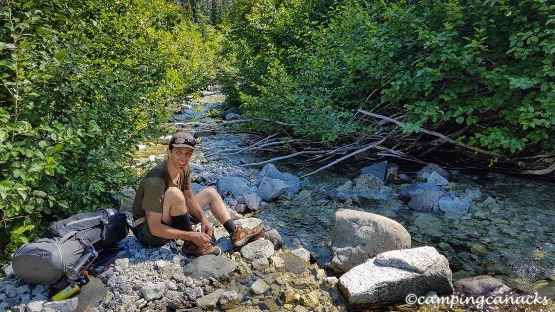 Taking a break by Illal Creek