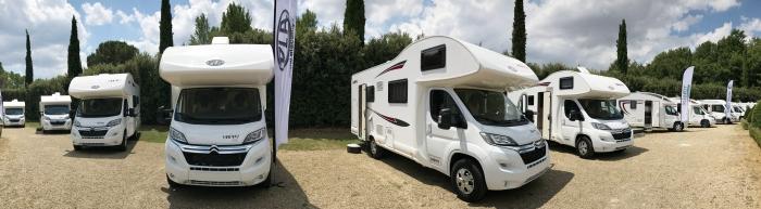 Camping-cars PLA et Giotti Line, nouveautés 2018