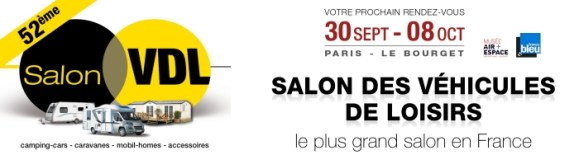 Salon VDL 2017, salon du camping-car au Parc des expositions Paris Le Bourget