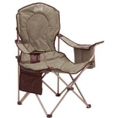 Padded Camping Chair Cover Rentals Trinidad Other Camp Chairs Kids And Coolers Coleman Quad With Side Cooler