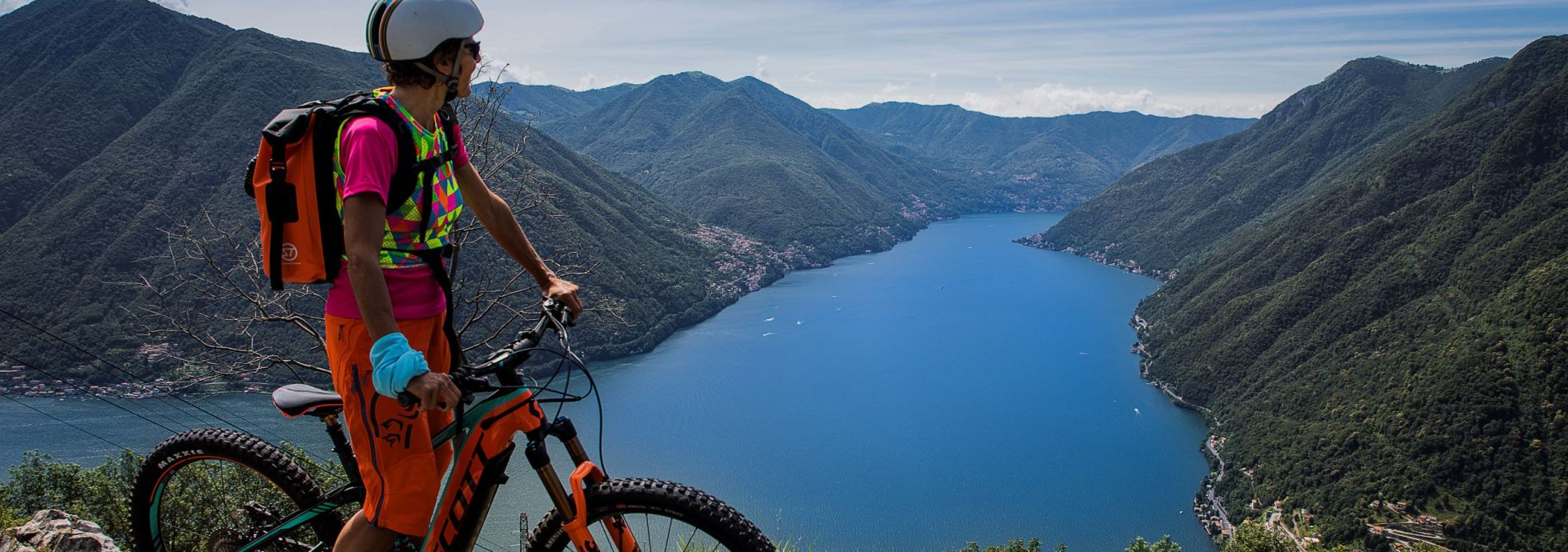 mountain bike campeggio ai colli fioriti