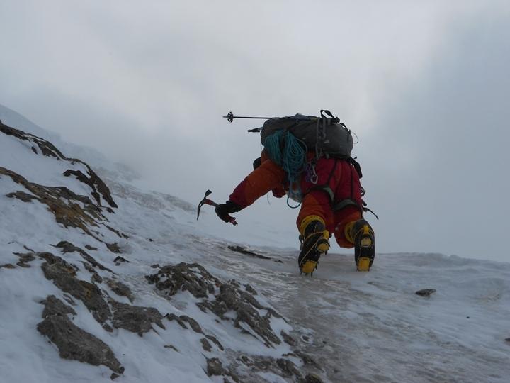 Daniele Nardi, scalando il Nanga Parbat. Fonte:www.danielenardi.org