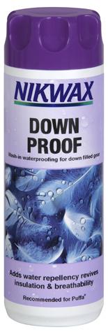 L'impermeabilizzante per il post-lavaggio dei sacchi a pelo in piuma