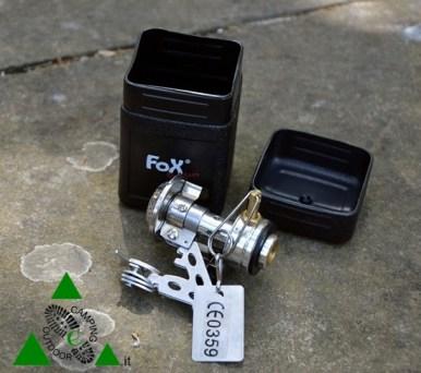 Fox Outdoor, Fornello a gas Klappbar Klein Mit Piezo-zündung (10)