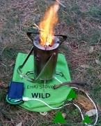 Fornello da campeggio EnKi Stove® Wild: recensione di una rivoluzione.