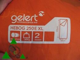 Sacco a Pelo Gelert Hebog 250E XL buono