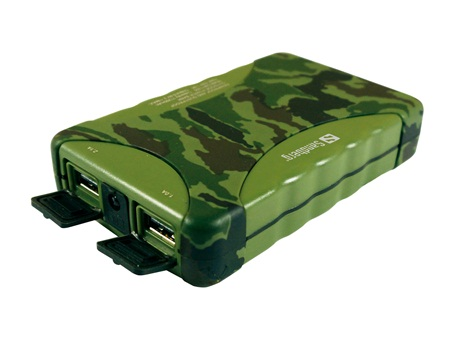 Sandberg Outdoor PowerBank batteria esterna portatile campeggio trekking