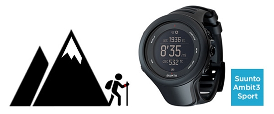 Orologio GPS Suunto Ambit 3 sport recensione