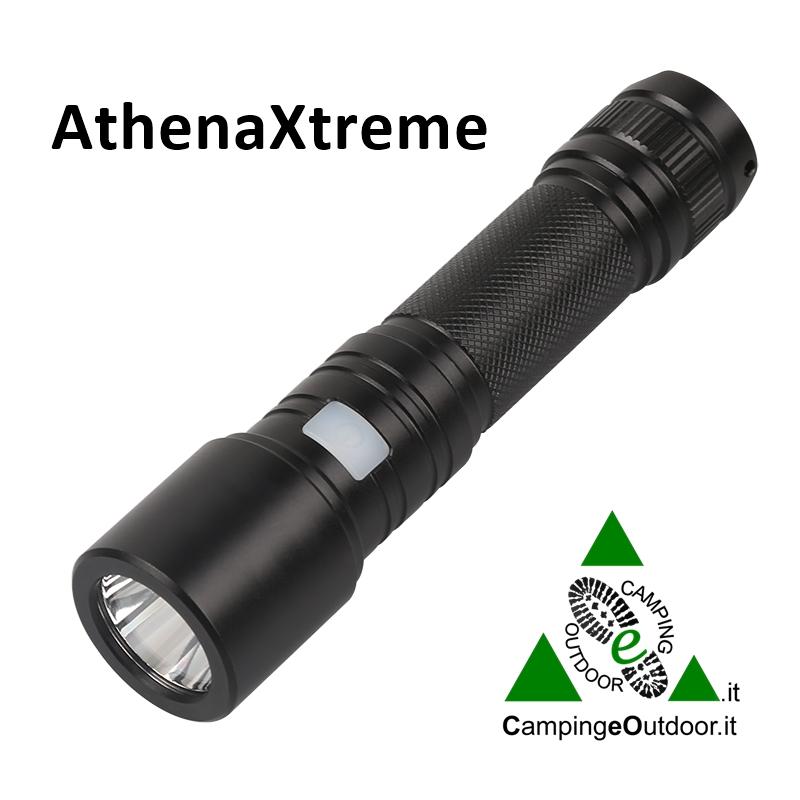 Torcia ricaricabile USB AtenaXtreme
