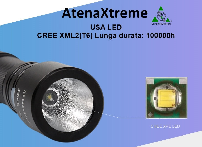 Torcia LED Ricaricabile