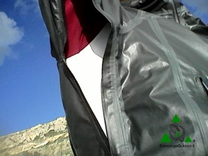giacca impermeabile shell columbia outdry ex platinum