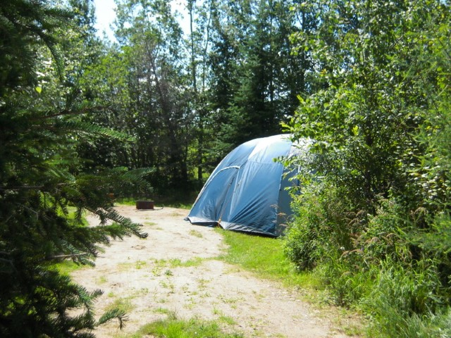 Camping coin intime