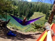 Relax with hammock camping