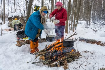 Winter Camping 5