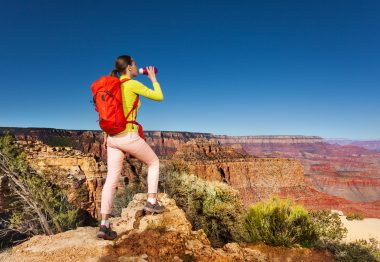 Hiking in the desert 3