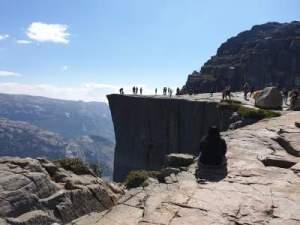 Preikestolen or Pulpit Rock Norway