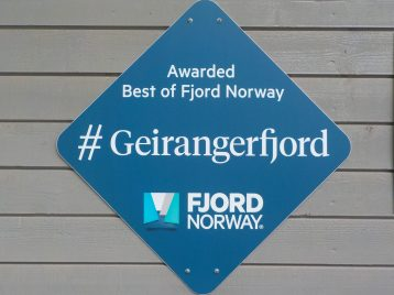 Geirangerfjord Norway awarded best fjord