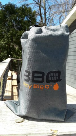 Bitty Big Q Portable Grill 2