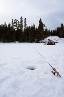 Fishing in the subarctic