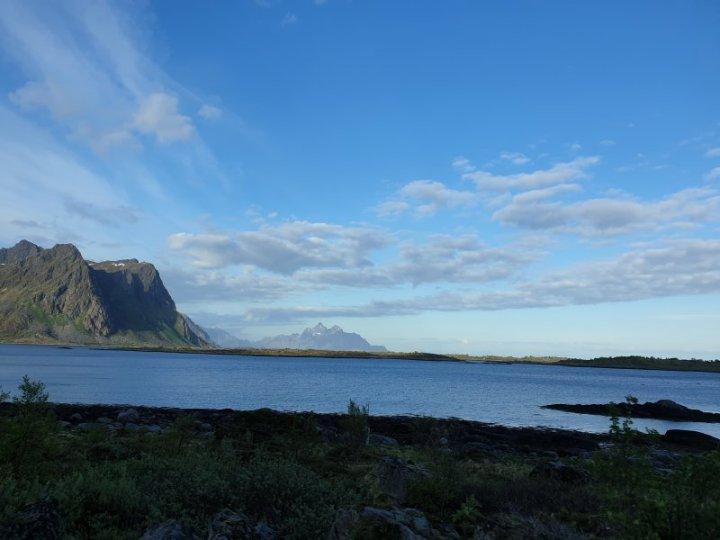 Lofoten Islands drive Norway