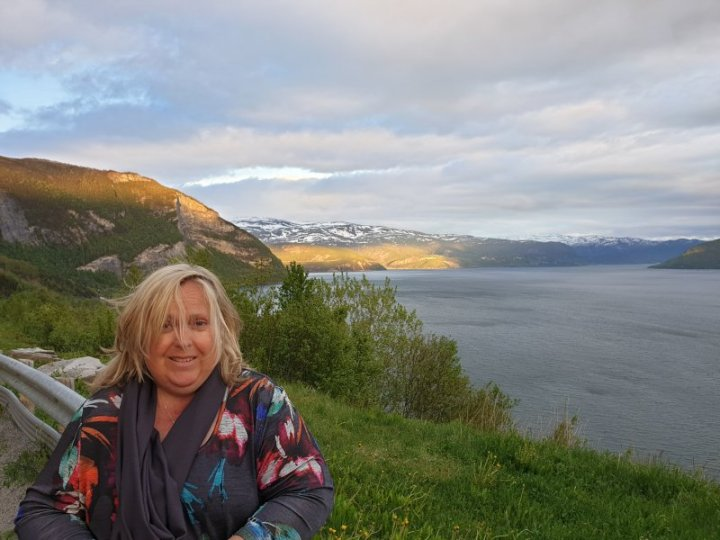 Nicole Anderson in the Midnight Sun Norway