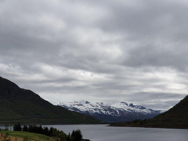 Scenery around Narvik Norway.