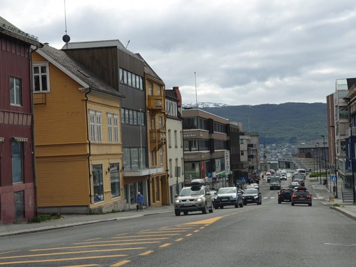 Narvik centre Norway
