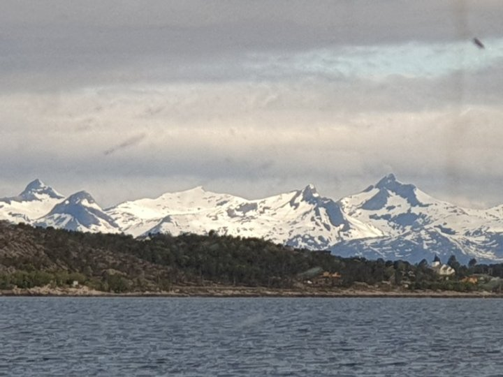 Image taken from ferry in arctic circle Norway