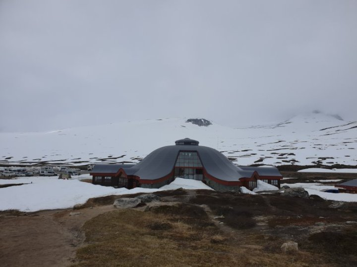 The Arctic Circle Centre Norway is a popular stop