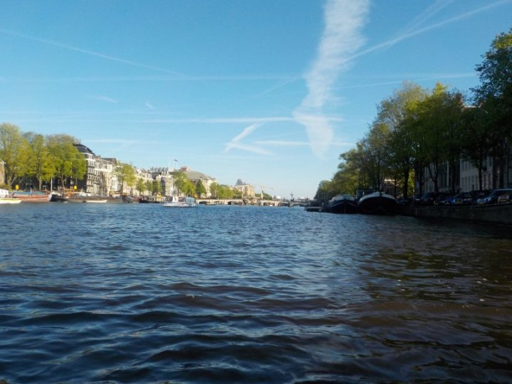 Looking down the Keizersgracht (Emperor's canal)