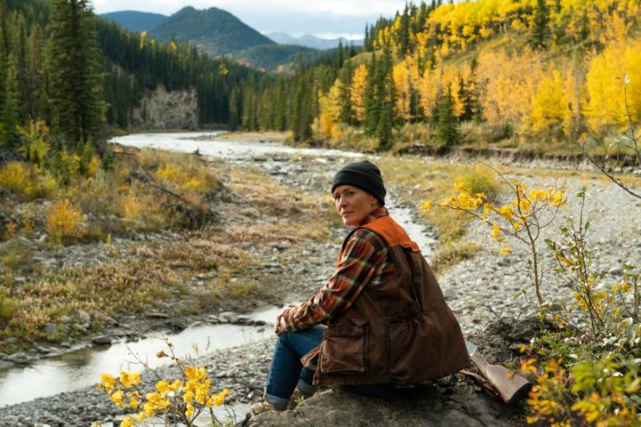 Robin Wright stars as Edee in her feature directorial debut LAND