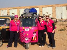 Camping for Women Doing the Rickshaw Run